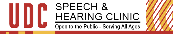 UDC Speech and Hearing Clinic Logo