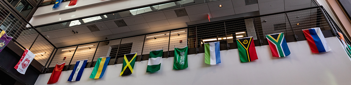 Student Center Flags