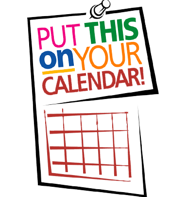 mark your calendar clip art university of the district of columbia rh udc edu Mark Your Calendar Wording mark your calendar clipart black and white