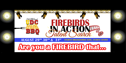 12th Annual Back 2 School BBQ – Firebirds in Action – Talent Search