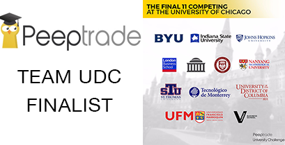 UDC is Among the Top Finalists in International Investment Competition.