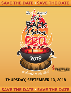 Back to School BBQ - Sept 13, 2018