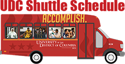 UDC Shuttle Schedule