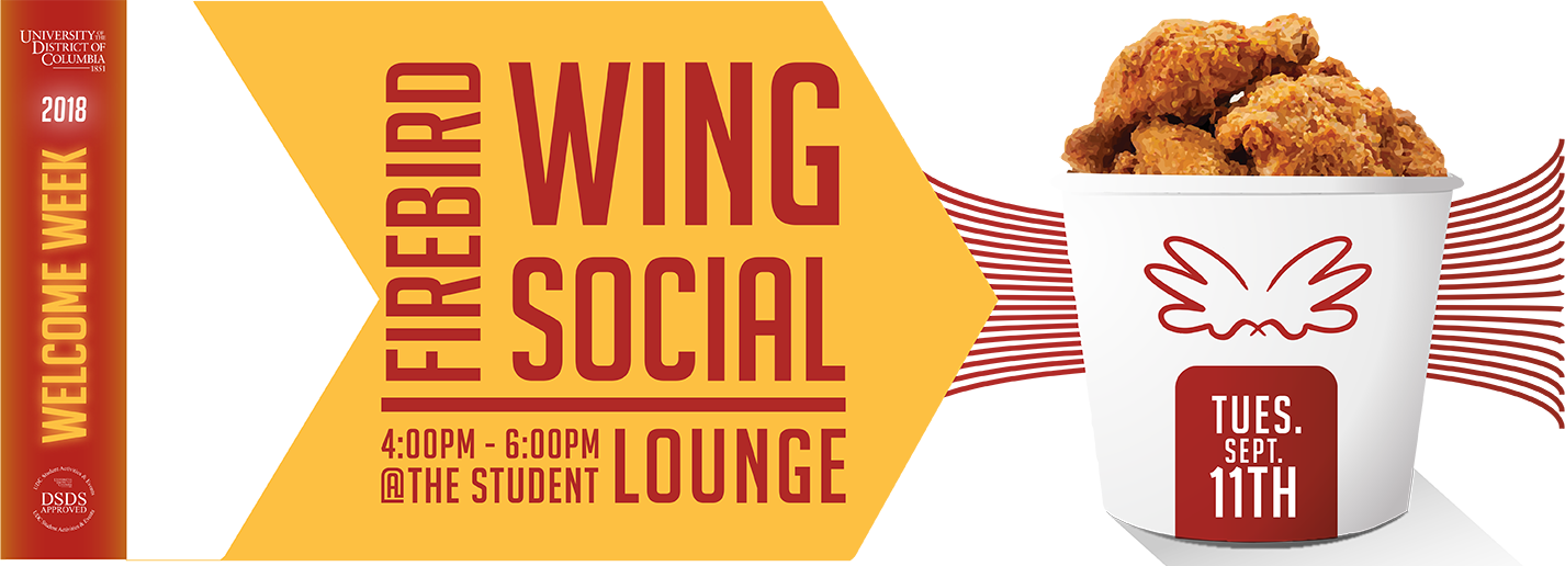 Wing Social - Tuesday - September 11. 2018