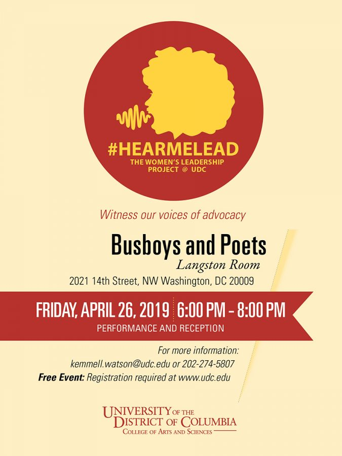 Hearmelead Invitation Spring 2019 Performance